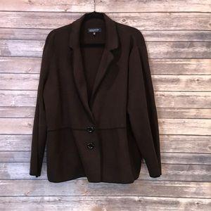 Jones New York 3X Brown Sweater